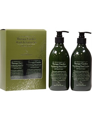 Therapy Gardener Wash & Lotion Set Wild Lime & Mint