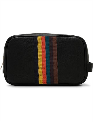 EMBROIDED BRIGHT WASHBAG