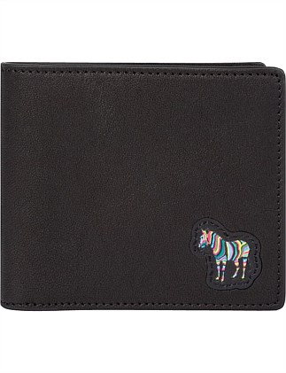 MULTICOLOUR ZEBRA PATCH BILLFOLD