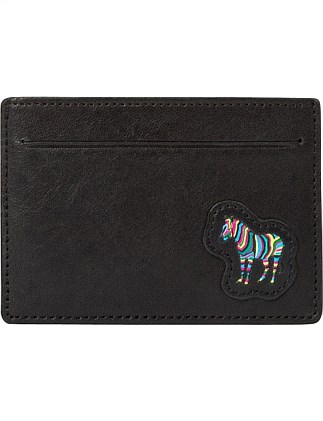 MULTICOLOUR ZEBRA PATCH GROUP CARDHOLDER