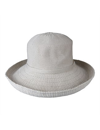poly knit thermal noosa hat