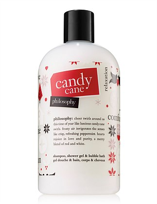 Candy Cane Shampoo Bath and Shgower Gel 480ml