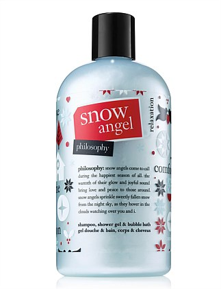 Snow Angel Shampoo Bath and Shower Gel 480ml