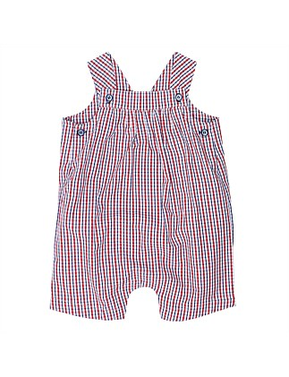 Alvin Check Overalls(3-24Months)