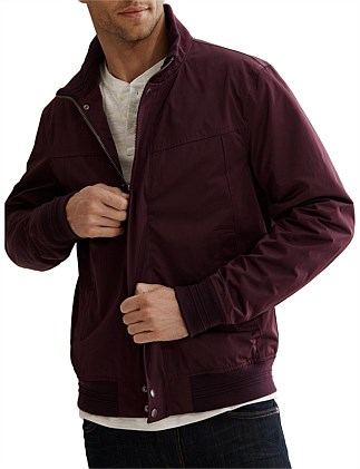 Funnel Bomber Jacket
