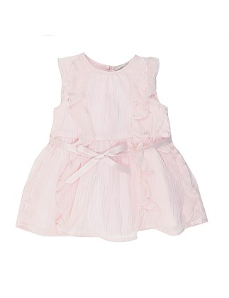 High Tea Dress W Belt(000-2Yr)