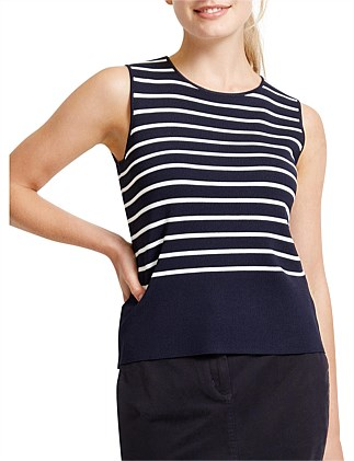 JERVIS STRIPE TOP