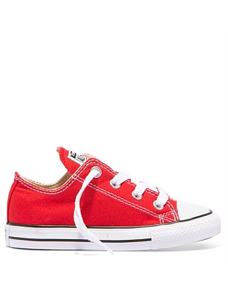 Infant Chuck Taylor Low Canvas Red