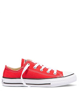 Kids Chuck Taylor Low Canvas Red