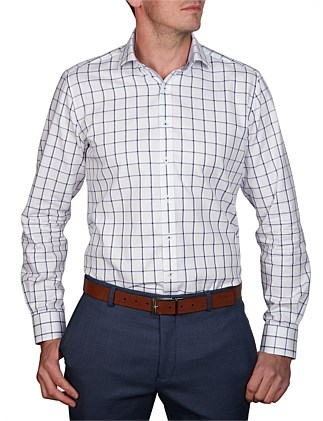 CAYES CHECK SLIM FIT SHIRT