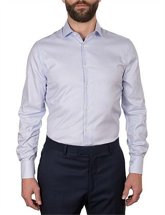 DOBBY SLIM FIT SHIRT