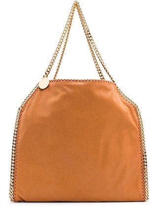 abe6315a9d6 Falabella Small Tote Bag with Gold Chain ...