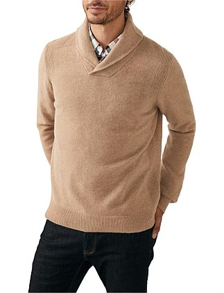 7a2a53f186b Shawl Neck Knit Special Offer