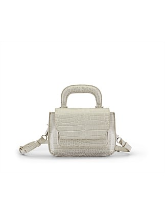 READER SATCHEL CROCO