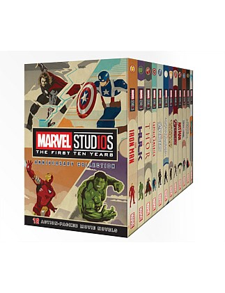 Marvel Studios First 10 Years Anniversary Collecton Box Set
