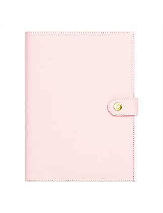 A5 Leather Notebook Mon