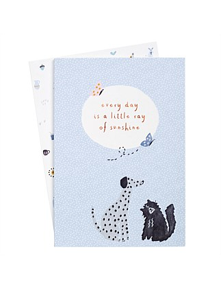A5 Essential Notebooks 2Pk Sweet 2019