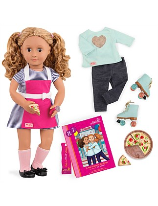 Our Generation Deluxe Isa Diner Doll w/ Book