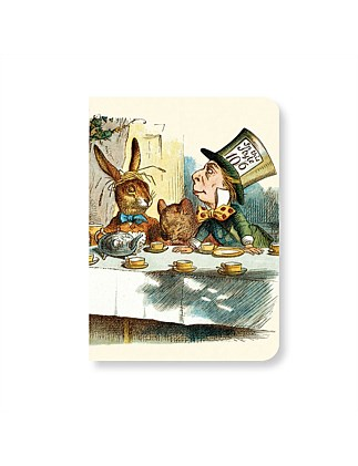Mad Hatters Tea Party Mini Notebook