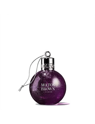 X18 Muddled Plum Bath & Shower Gel Festive Bauble