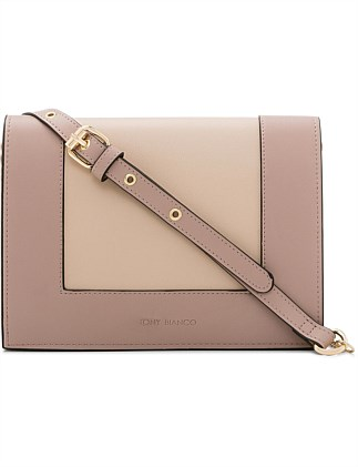 APRIL FLAPOVER CROSSBODY BAG