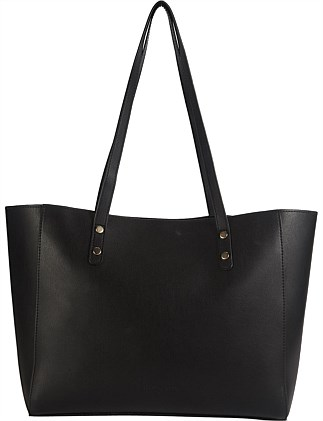 a2b489c48472 ANGELA TOTE WITH STUD DETAILS