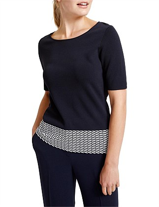 Signature Jansz Knit Top