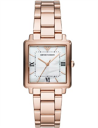 Emporio Armani Women's Rose Gold-Tone Watch