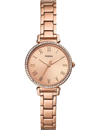 Fossil Kinsey Rose Gold-Tone Watch