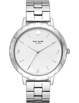 Kate Spade New York Metro Silver-Tone Watch