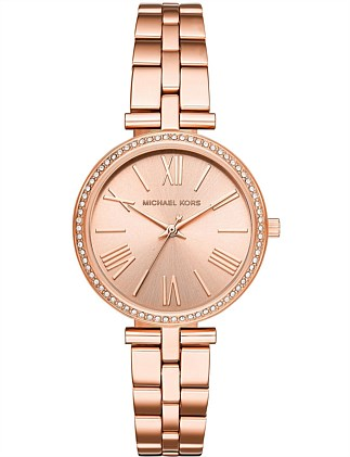 Michael Kors Maci Rose Gold-Tone Watch