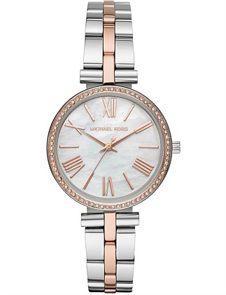 Michael Kors Maci Multi-Tone Watch