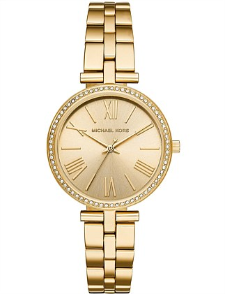 Michael Kors Maci Gold-Tone Watch