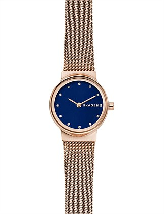 Skagen Freja Rose Gold-Tone Watch