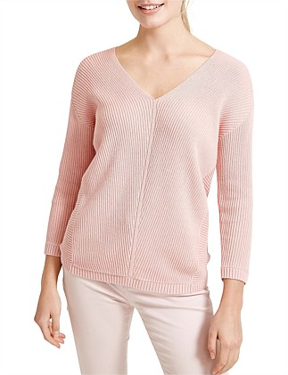 BONDI V NECK KNIT