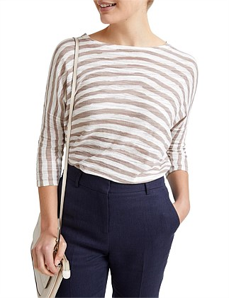 Byron Stripe Knit Top