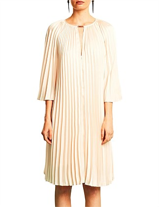 DEPTH PLEAT DRESS