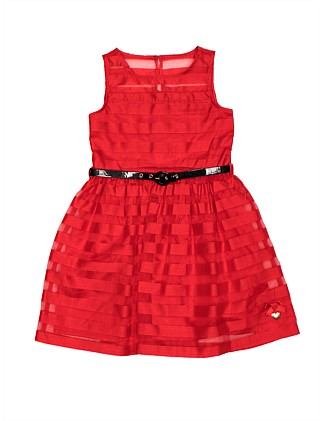 Minnie Mouse Organza Stripe Dress