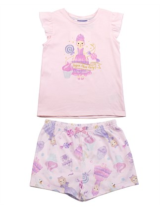 Sugar Plum Fairy S/S Sleep Set (Girls 2-7 Yrs)