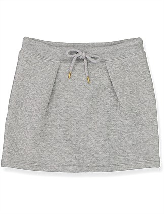 Quilted Sweat Skirt