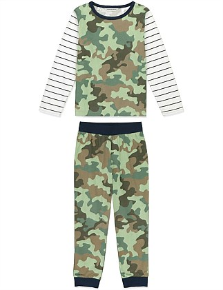 Camo Stripe Pyjamas