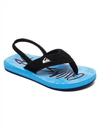 Molokai Layback Wordmark Sp Kd Sandal (Boys 8-14 Yrs)