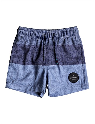 Blocked Magic Volley Boy 10.5 Short (Boys 2-7 Yrs)