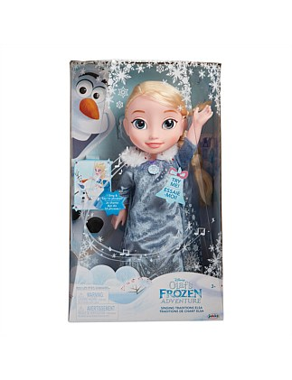 Frozen OFA Singing Traditions Feature Elsa Doll