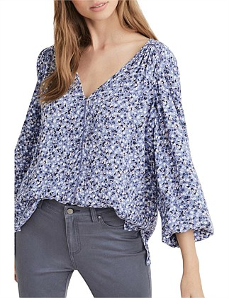 Ditsy Casual Top