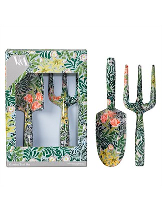 Fork And Trowel Set - William Morris