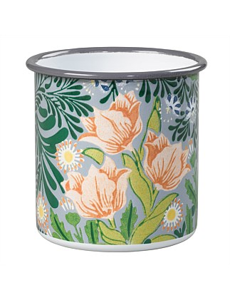 Sml Enamel Pot - William Morris