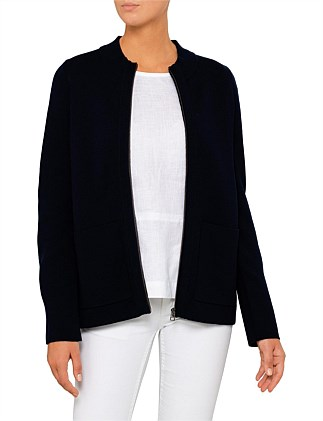 Milano Zip Thru Cardigan