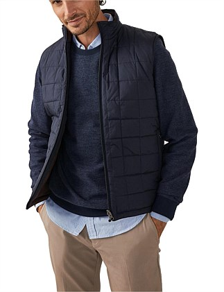 Reversible Ecodown Puffer Vest