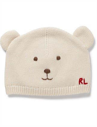 Bear Hat-Apparel Accessories-Hat-Wool
